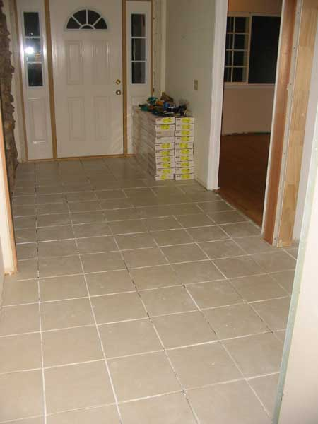 Foyer Tile Direction : Flooring pictures